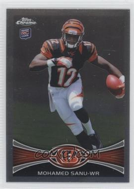 2012 Topps Chrome - [Base] #98.1 - Mohamed Sanu (Helmet On - Running)