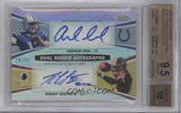 Andrew Luck, Robert Griffin III /30 [BGS 9.5]