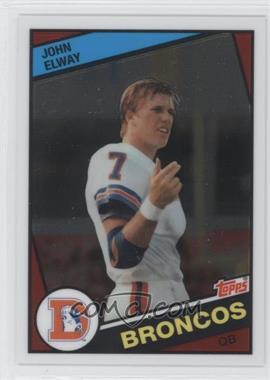 2012 Topps Chrome - Quarterback Rookie Reprint #63 - John Elway