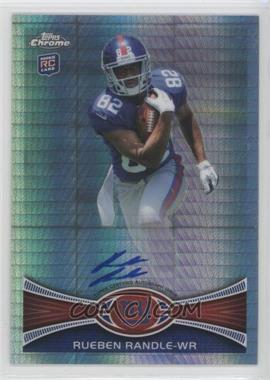 2012 Topps Chrome - Rookie Autographs - Prism Refractor [Autographed] #70 - Rueben Randle /50