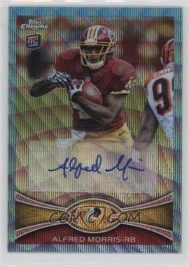 2012 Topps Chrome - Wrapper Redemption Blue Wave Refractor Autograph - [Autographed] #BWA-AM - Alfred Morris
