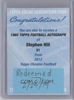 Stephen Hill [REDEMPTION Being Redeemed]