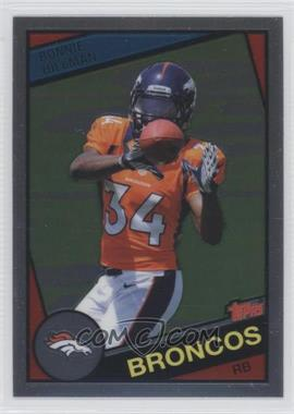2012 Topps Chrome 1984 Design #33 - Ronnie Hillman