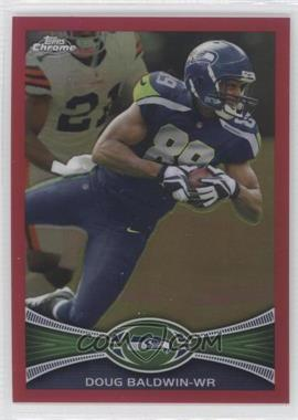 2012 Topps Chrome BCA-Bordered Refractor #9 - Doug Baldwin /399