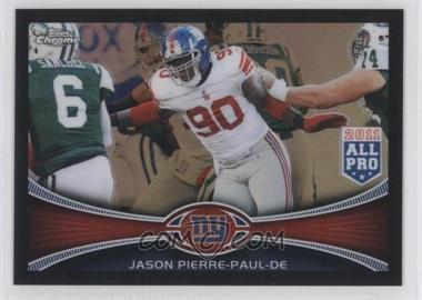 2012 Topps Chrome Black Refractor #76 - Jason Pierre-Paul /299