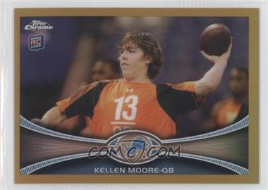 2012 Topps Chrome Gold Border Refractor #27 - Kellen Moore /50