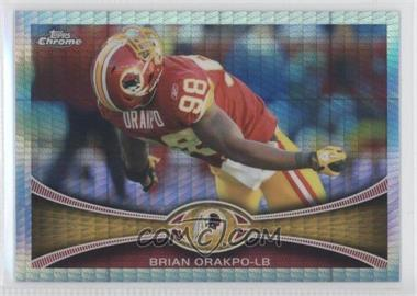 2012 Topps Chrome Prism Refractor #8 - Brian Orakpo /216