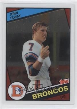2012 Topps Chrome Quarterback Rookie Reprint #63 - John Elway