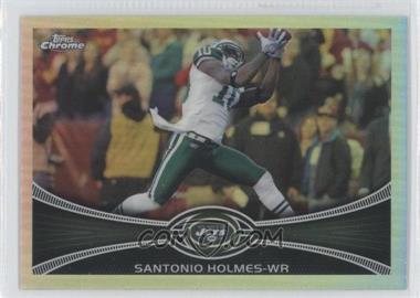 2012 Topps Chrome Refractor #124 - Santonio Holmes
