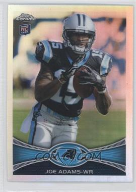 2012 Topps Chrome Refractor #133 - Joe Adams