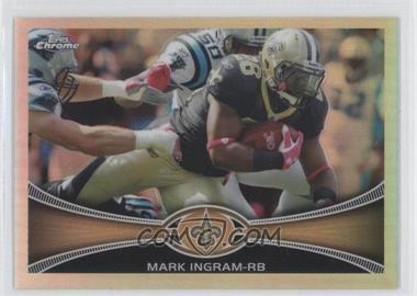 2012 Topps Chrome Refractor #171 - Mark Ingram