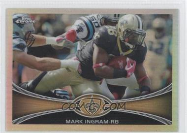 2012 Topps Chrome Refractor #171 - Mark Ingram