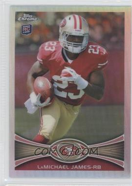 2012 Topps Chrome Refractor #191 - LaMichael James