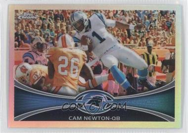 2012 Topps Chrome Refractor #20 - Cam Newton