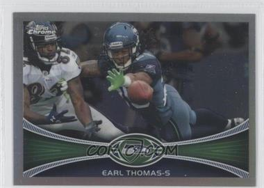 2012 Topps Chrome Refractor #201 - Earl Thomas