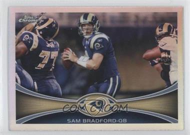 2012 Topps Chrome Refractor #95 - Sam Bradford