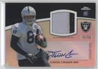 Juron Criner /50