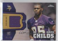 Greg Childs /25