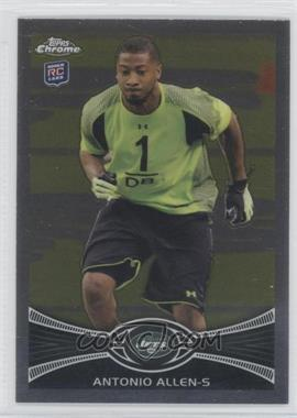 2012 Topps Chrome #101 - Antonio Allen