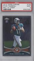 Ryan Tannehill (Ball in Right Hand) [PSA 9]