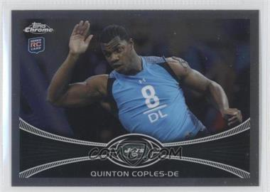 2012 Topps Chrome #122 - Quinton Coples
