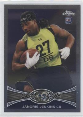 2012 Topps Chrome #128 - Janoris Jenkins