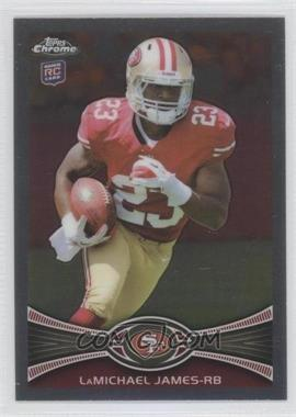 2012 Topps Chrome #191.1 - LaMichael James (Stands in back)