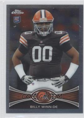 2012 Topps Chrome #196 - Billy Winn
