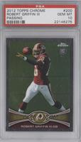 Robert Griffin III (Arm cocked back) [PSA 10]
