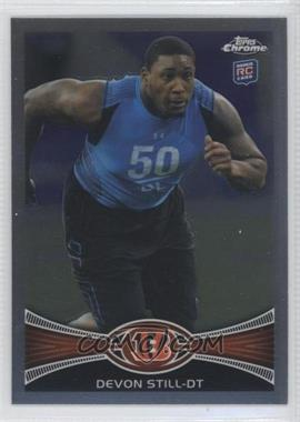 2012 Topps Chrome #3 - Devon Still