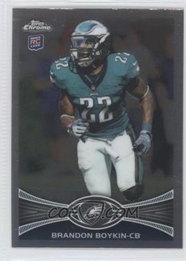 2012 Topps Chrome #36 - Brandon Boykin