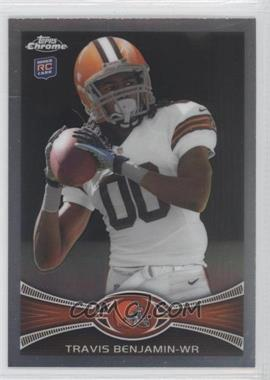 2012 Topps Chrome #43 - Travis Benjamin