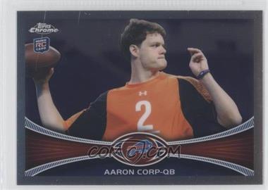 2012 Topps Chrome #60 - Aaron Cox