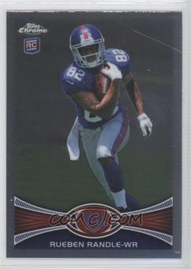 2012 Topps Chrome #70.1 - Rueben Randle (Ball Clutched to Chest)