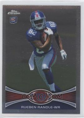 2012 Topps Chrome #70.1 - Rueben Randle (Ball to chest)