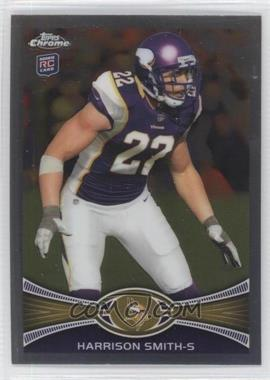 2012 Topps Chrome #77 - Harrison Smith