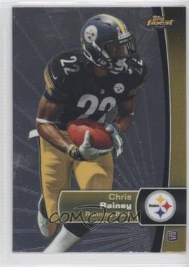 2012 Topps Finest - [Base] #114 - Chris Rainey