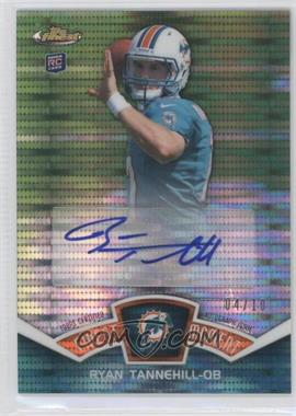 2012 Topps Finest Finest Moments Autographs Pulsar Refractor Autograph [Autographed] #FMA-RT - Ryan Tannehill /10