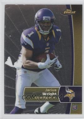2012 Topps Finest #138 - Jarius Wright