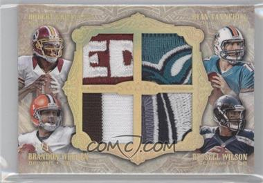 2012 Topps Five Star - Quad Patch - Five Star #FSQP-GTWW - Robert Griffin III /1