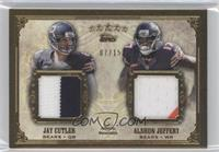 Jay Cutler, Alshon Jeffery /15
