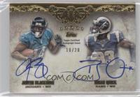 Justin Blackmon, Brian Quick /20