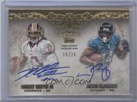Robert Griffin III, Justin Blackmon /20