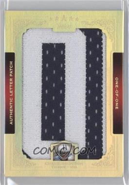 2012 Topps Five Star Letters Patch #FSL-CJ - Chris Johnson /1