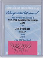 Jim Plunkett /15 [REDEMPTIONBeingRedeemed]