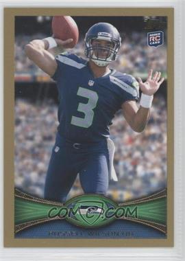 2012 Topps Gold #165 - Russell Wilson /2012
