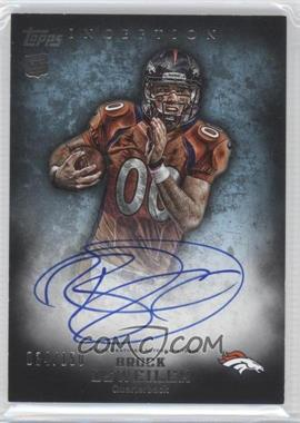 2012 Topps Inception Blue #111 - Brock Osweiler /150