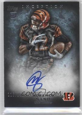 2012 Topps Inception Blue #114 - Mohamed Sanu /150