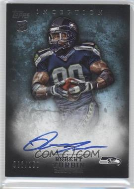 2012 Topps Inception Blue #127 - Robert Turbin /150