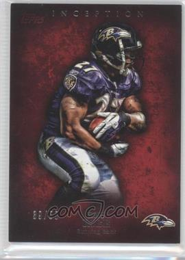 2012 Topps Inception Red #64 - Ray Rice /50